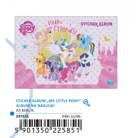 STICKER ALBUM LITTLE PONY